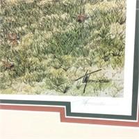 """Old Salem """"wrinkler Bakery"""" Signed Print"""