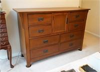 Arts and Craft Style Dresser