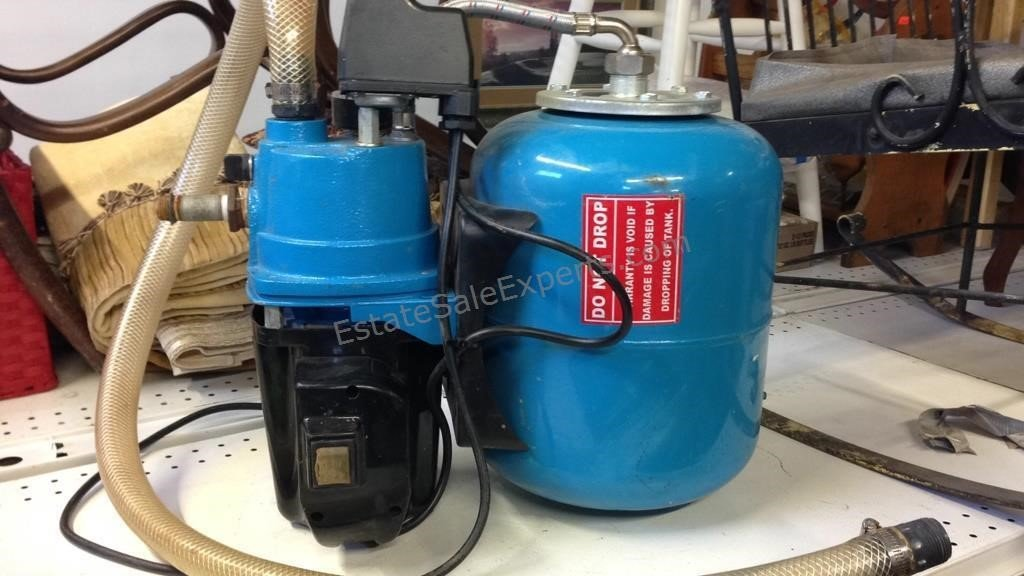 Central Machinery Shallow Well Pump 3/4 HP