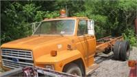 180719  County Surplus~Trucks * Tank * Mower