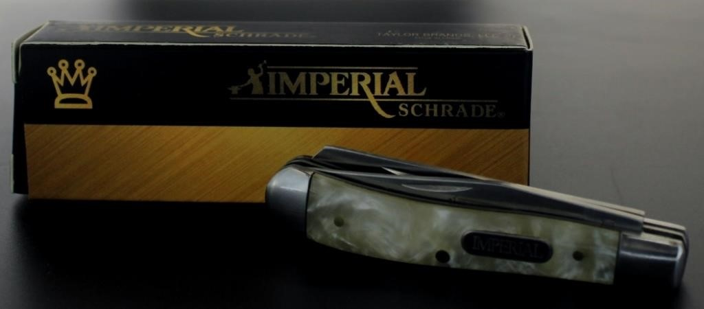 Imperial Schrade Cracked Ice Knife | Interstate Auction Company