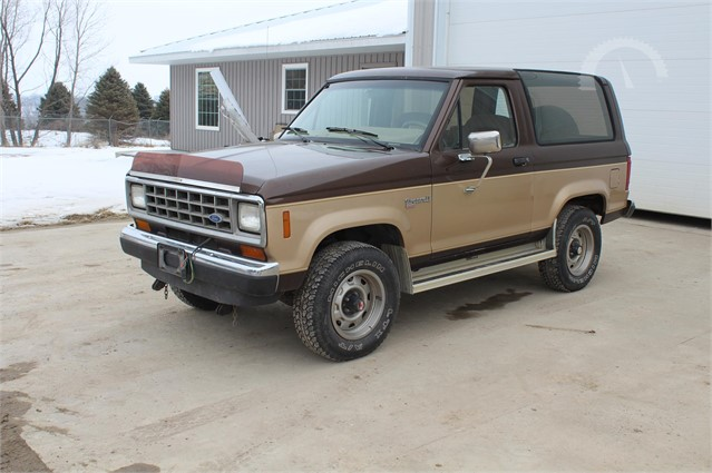 Ford Bronco 2 >> Lot 3029 1987 Ford Bronco Ii