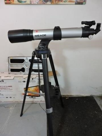 Meade AutoStar Telescope, with Computer Control | HiBid Auctions