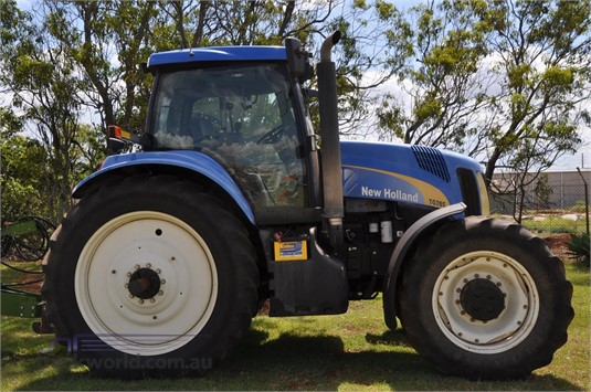 0 New Holland TG285 Black Truck Sales - Farm Machinery for Sale