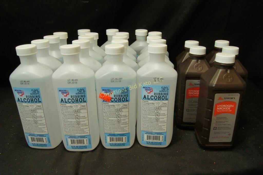Rubbing Alcohol, Hydrogen Peroxide | Bid Kato