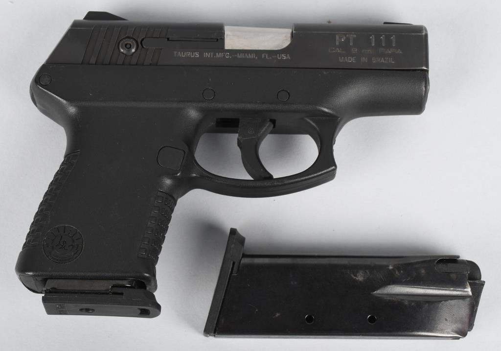 TAURUS PT111, MILLENNIUM 9mm PISTOL | Milestone Auctions