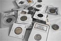 Silver Coin Currency Bullion Online Auction 7.24.18