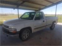 2000 Chevrolet 1/2 ton pickup