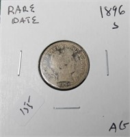 7.25 On Line Only Coin Auction