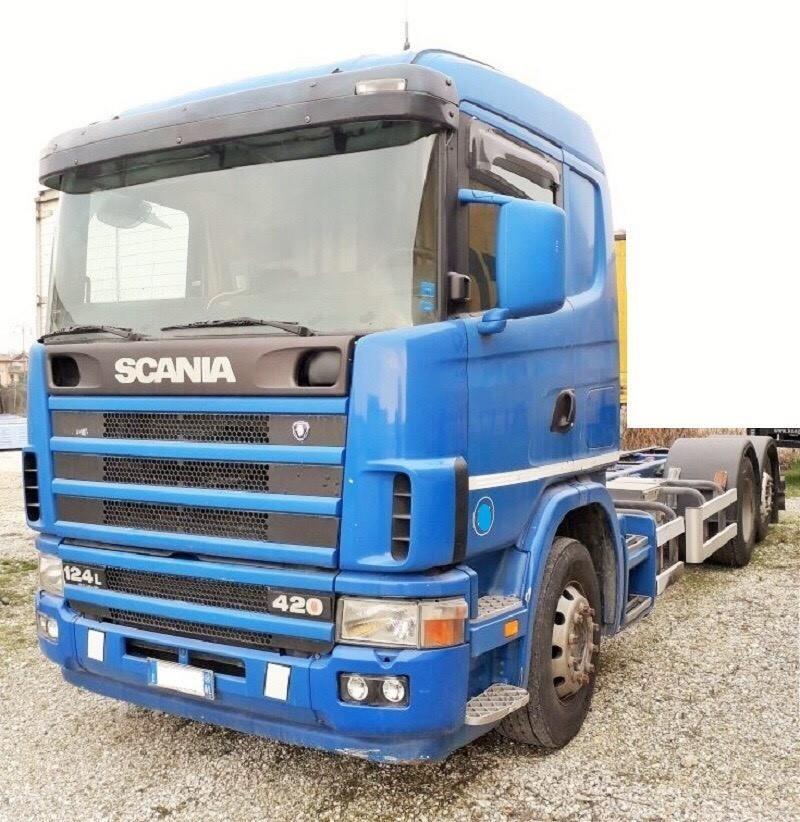Scania R124L420 #Used