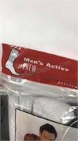 2 - 6 packs of men's socks