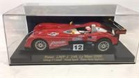 Panoz LMP-1 Le Mans 2000 in display case
