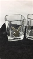 Playboy Glass & Metal shot glasses - 4