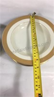 Sango China Desert Plates & Soup/Salad Bowls