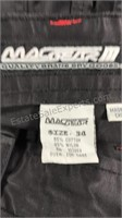 MacGear M pants size 34 zip off side panels