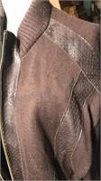 Rodelli Uomo 2xl zip front knit sweater jacket