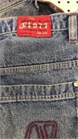 Jordache Distressed Jeans size 36x30