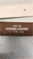 Collection of 5 Leather Belts