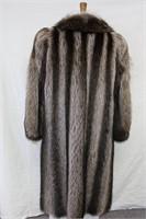 Natural Raccoon full length size 12