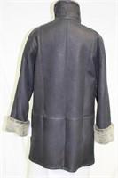 Black Snotop Shearling jacket size medium
