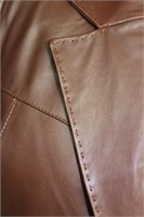 Nappa Leather saddle stitching size medium