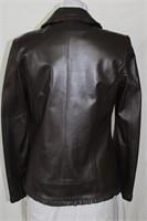 Brown Lamb Leather Size medium Retail $ 495.00