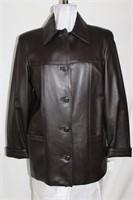 Brown Nappa  leather size medium Retail $475.00