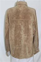Washable suede jacket size XL Retail $ 220.00