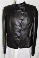 Lamb skin leather jacket size M retail $425.00