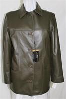 Nappa leather jacket size small Retail $475.00