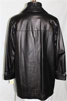 Black lambskin jacket Size 9/10 Retail $ 700.00