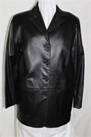 Lambskin leatherjacket size M Retail $ 550.00