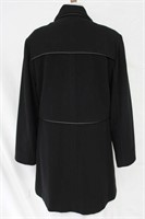 Wool Cashmere with Leather trim Size 10