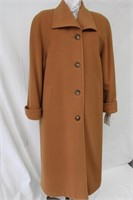 Wool & Cashmere blend coat Size 8p  Retail $485.00