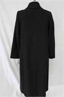 Wool & Cashmere blend coat Charcoal  Size 10