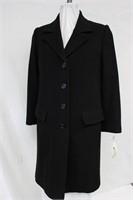 Wool & Cashmere blend coat Black Size 10