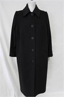 Wool & Cashmere coat Charcoal Size 12