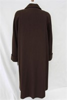 Wool & Cashmere coat Brown size 12 Retail $440.00