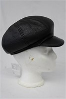"Sheepskin hat size 21"" Retail $ 175.00"