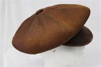 Brown Sheepskin hat Size Lg Retail $77.00