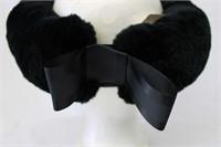 Dark Green Sheared Beaver Headband  Retail $225.00