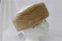 Sheared Beaver headband Retail $145.00