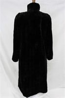 Used Sheared Mink Paw Reversible coat Size S/M