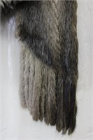 Used Let Out Muskrat scarf Retail $200.00