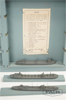 US Navy Miniature Ship Training Aid