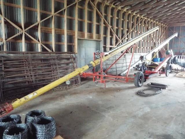 Westfield WR 60-36 grain auger w/electric motor | HiBid Auctions