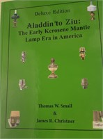 Book written by Mr. Small and James Christner which shows many lamps and burners from the Small collection. Contact us for purchasing information.