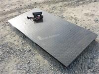 10 Ton Digital Floor Scale c/w: 78'' platform(A&B)