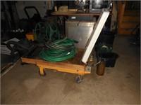 Lift Cart & Garden Hose