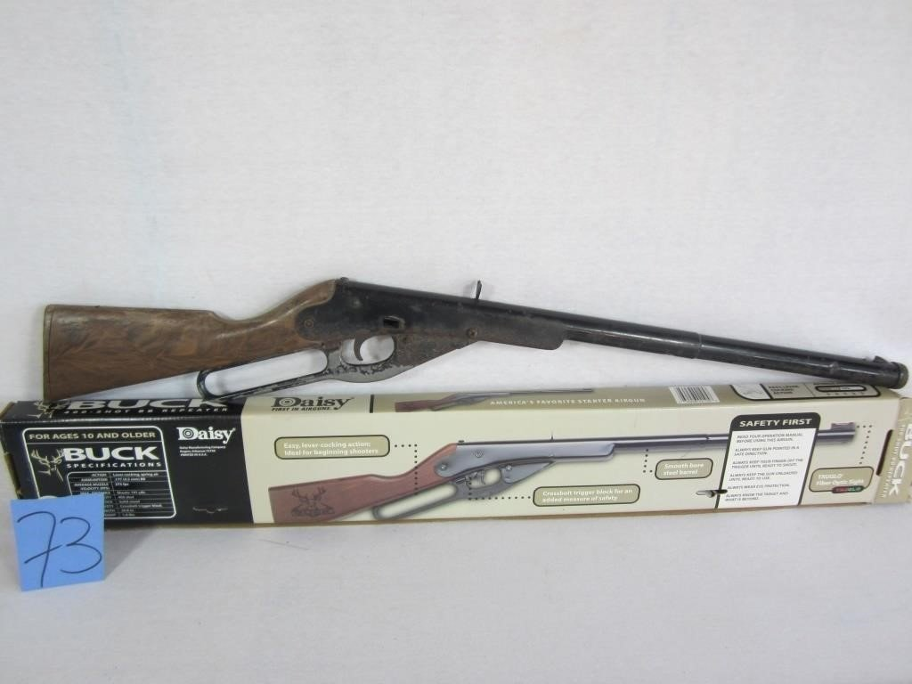DAISY MODEL 1105 BB GUN - ROGERS, AR | John Carl Auction Company